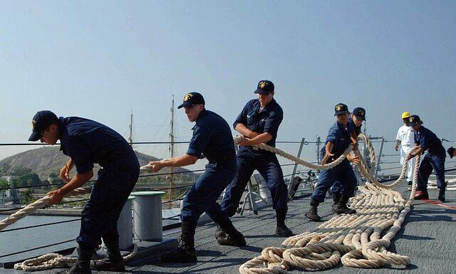 Problemy z podatkami dla marynarzy